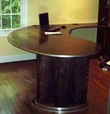 round office desks. Curved Computer Desks Hyperwork Corner U Shaped Office Desk With For Rounded Plans 4 Round
