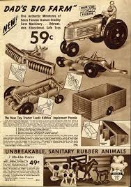 Toys in the 1930 s