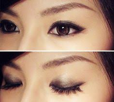 simple smokey for asian eyes more emphasis on inner eyelids asian eyebrows makeup for