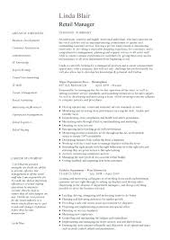 Resume Template Retail Fascinating Retail Assistant Manager Resume Template Archives Retail Manager