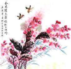 chinese other flowers painting 69cm x 69cm 2361048 x