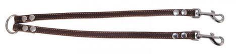 Collar <b>сворка кожаная</b> коричневая 1,4/40см купить в интернет ...