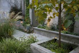 planter lighting. Cinder Block Planter Landscape Contemporary With Wet Concrete Finish Planters Transitional Lights Lighting N