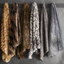 gray faux fur throw. Delighful Throw Intended Gray Faux Fur Throw A