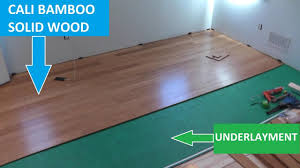 cali bamboo hardwood flooring tips on cutting and installation