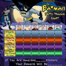 Lego Batman Reward Chart Batman Potty Training Charts Potty Training Boys Potty