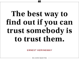 Quotes That Make You Think Classy 48 Quotes About Trust Reafer