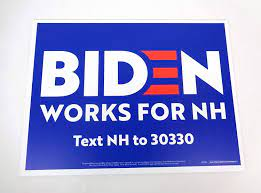 Amazon.com: Joe Biden Vice President For President 2020 Official Campaign  Yard Sign Poster A: Entertainment Collectibles