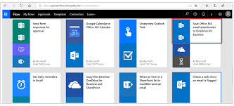 template office create your first flow learn microsoft docs