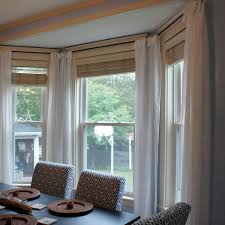 Awesome Window Treatments For Bay Windows
