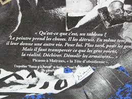 Citation De Picasso La Tête Dobsidienne Les Ptits Copains De