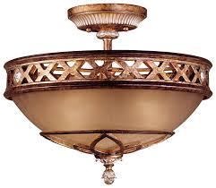 minka lavery lighting 1757 206 3 light semi flush in aston court bronze finish