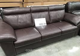 lounge around or take a nap on the natuzzi group leather sofa
