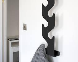 Wave Coat Rack Simple Wave Coat Rack Wall Mounted Hallway