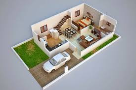 3d duplex home plan ideas everyone will like homes in kerala india