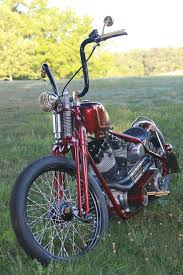 speed dealer customs brass burgundy bobber speed dealer