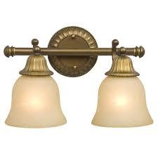 filament design n 2 light parisian antique brass brass bathroom lighting product