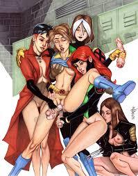 Lesbians and a man porn