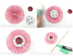 Making Of Flower With Paper How To Make Paper Flowers Step By Step With Pictures Red