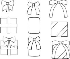 リボンとプレゼントのイラスト Taniweb制作