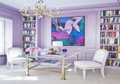 purple office decor. Wonderful Purple Office Decor Interior Designers Share Their Favorite Paint Colors For Summer Via @MyDomaine