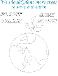 Small Picture Save Environment Coloring Pages