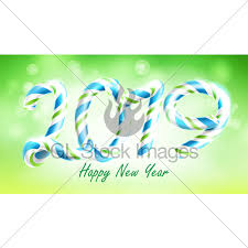 2019 Happy New Year Background Vector. Numbers 2019. Chri... · GL ...