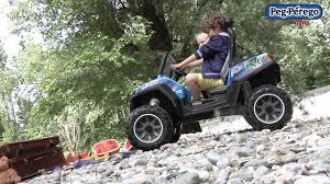 peg perego polaris rzr 900 blue 12 volt battery powered ride on toys r us canada