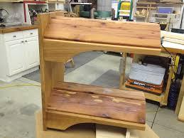 wall mounted saddle rack by cory lumberjocks com woodworking with racks plans design 5