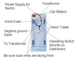 car neon wiring diagram car wiring diagrams online how to install neon under car lights on your vehicle description car neon wiring diagram