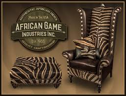 zebra skin furniture