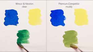 Professional Water Colours Put To The Test Winsor Newton