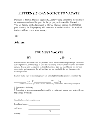 ers 30 day notice templates unique luxury 30 day notice to vacate letter
