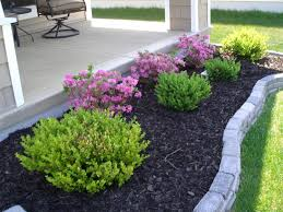 front patio ideas on a budget. Flower And Herb Plants For Small Front Yard Landscaping House Design With Concrete Brick Border Ideas Patio On A Budget