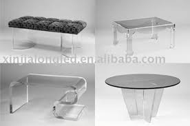 perspex furniture. Mutil-shaped Clear Acrylic Bench, Chair ,perspex Furniture Perspex C