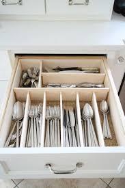 organize kitchen cabinets coffee drawer