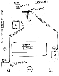 radios for crosley cars radio bracket