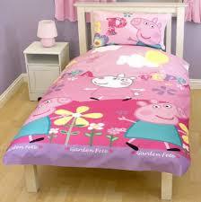 PEPPA PIG ADORABLE SINGLE DUVET SET QUILT COVER BEDDING FLORAL ... & PEPPA PIG ADORABLE SINGLE DUVET SET QUILT COVER BEDDING FLORAL PINK  CHILDREN 935 Adamdwight.com