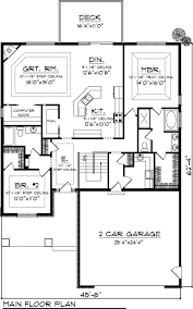 3 bedroom house plans with attached garage. chic 3 bedroom house plans 2 storey and sqaure feet bedrooms bathrooms garage spaces width depth with attached g