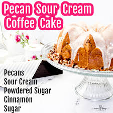 Make sure to try my blueberry muffin cake too! Simple To Make Pecan Sour Cream Coffee Cake Momskoop
