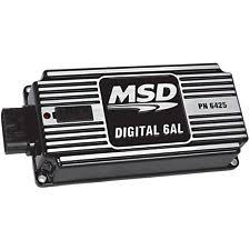 msd 6al box msd 64253 digital 6al cd multiple spark universal ignition box rev limiter