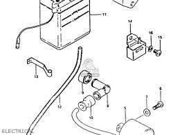 33410 02221) coil assembly,ignition fa50 1988 (j) 3341002220 Suzuki GS850 Wiring-Diagram (33410 02221) coil assembly, ignition photo