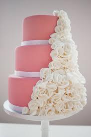 pink wedding cake idea in 2017 bella wedding