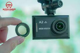 Camera hành trình kết nối Wifi, xem video trực tiếp Webvision A2