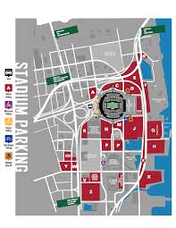 Jaguars Stadium Seating Chart Everbank Field Parking Guide Stadium Parking Guides