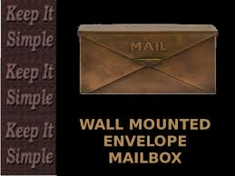 wall mount mailbox envelope. Perfect Mailbox Wall Mounted Envelope Mailbox Full Perms 1 Prim Scripted Inside Mount