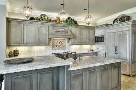 grey distressed kitchen cabinets update painted cabinet ideas wood design gray white countertops blue and modern