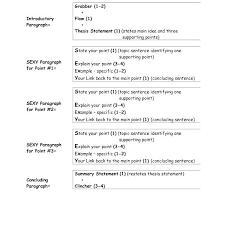 5 Paragraph Essay Examples Three Paragraph Essay Format Baxrayder