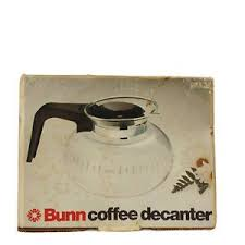 In fact, we love coffee so much that we spend $40 billion on it every year! Bunn Coffee Decanter Pot Carafe Easy Pour Old Stock 8 Cup Replacement Mr Coffee Ebay