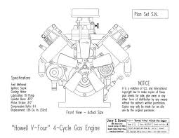 howell v four 4 cycle gas engine watch video